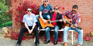 WOODSROCK Herbst 2014: Michael Bohnen, Pingo Schlüter, Roland Seitz, Martin Korn in Sweetlübbe.