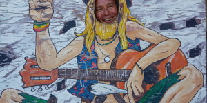 Matala/Kreta August 2016: Hippie-Spirit pur!
