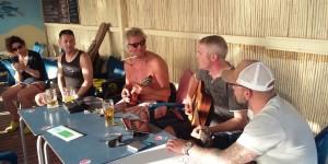 DIE DREI TAUBEN mit Änne und Sven Cash in der Beachbar