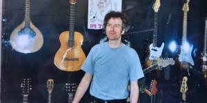 In meiner IBANEZ GUITARSTORIES-Ausstellung 2003 in Schwerin