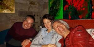 Grabower Küsschen: Martin, Kiki und der große Bruder.