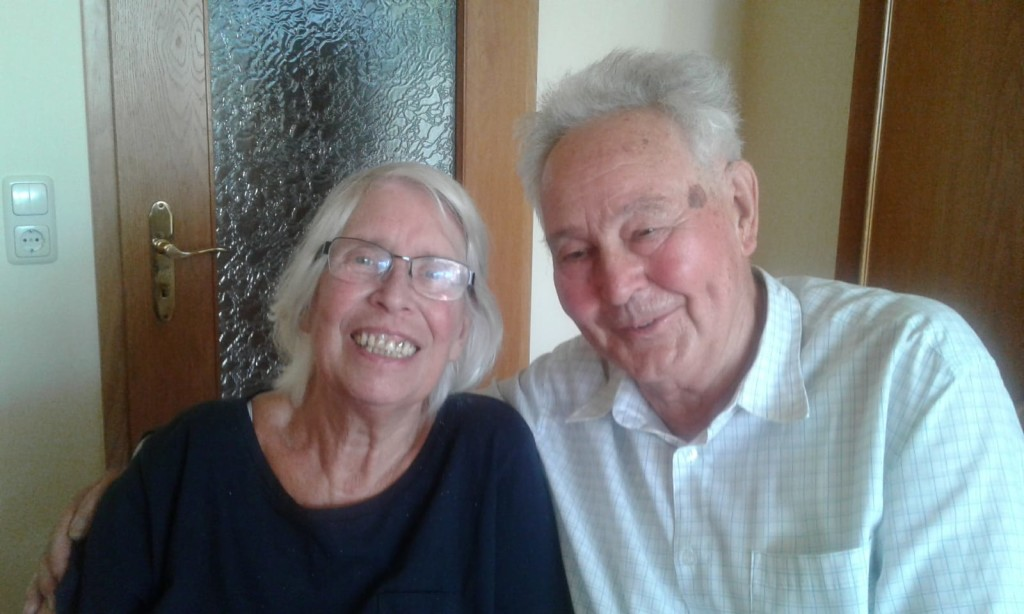 Meine Eltern Gisela und Rudi Juli 2018